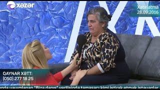 Bizə danış - Xatırlatma 28.09.2016 / Bize danis - Xatirlatma