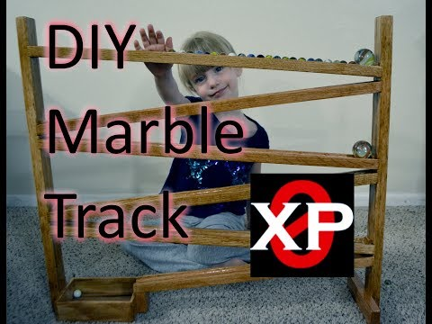 DIY Wooden Marble Track