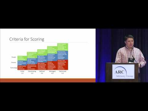 Cybersecurity Maturity - Justin Kosar of Associated Electric Cooperative @ ARC Orlando Forum 2017
