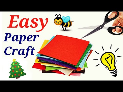 Paper craft - Easy and creative summer Camp Activities for kids | paper art| DIY Fun Ideas 2019.