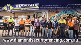 Diamond Security | Perth Security Fencing & Gate Specialist