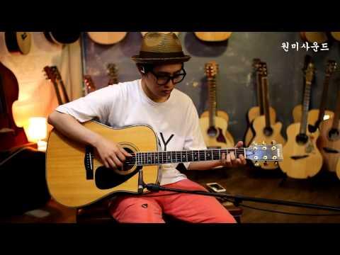 Yamaha L-8 Spruce/Rosewood 연주 조일건/원미사운드