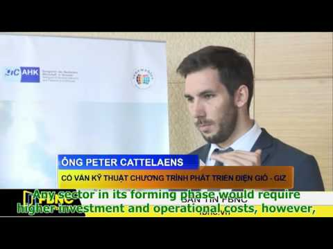 Peter Cattelaens discusses the prospects of the Vietnamese wind sector (FBNC)