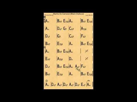 Black Orpheus - Backing track / Play-along