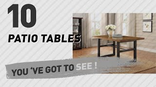 Better Homes & Gardens Patio Tables // New & Popular 2017