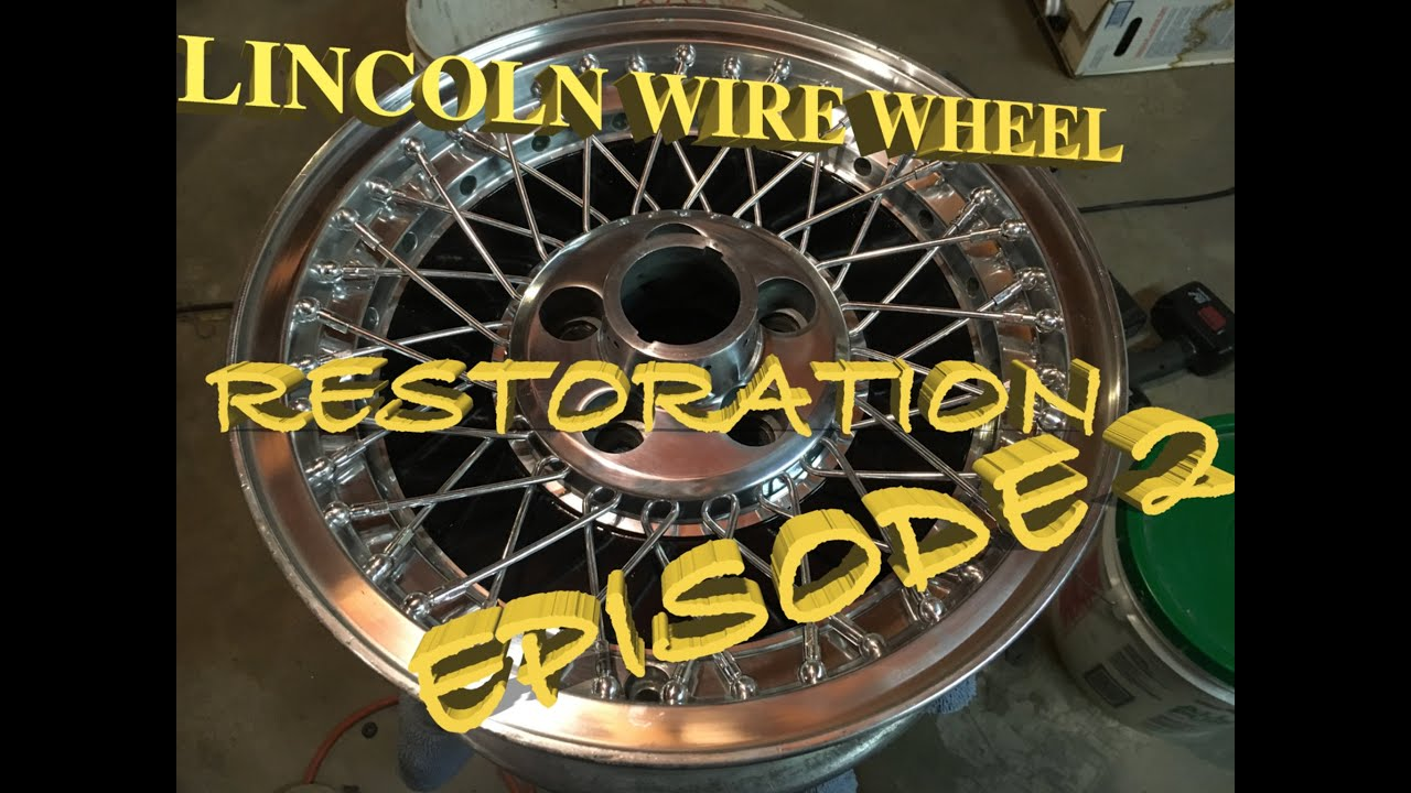 Lincoln Mark Vi Town Car How To Aluminum Wheel Restoration Wire
