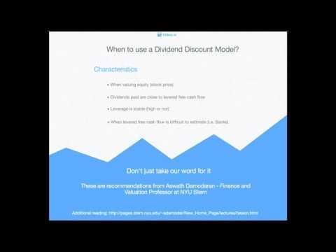 Dividend Discount Model (Gordon Growth)
