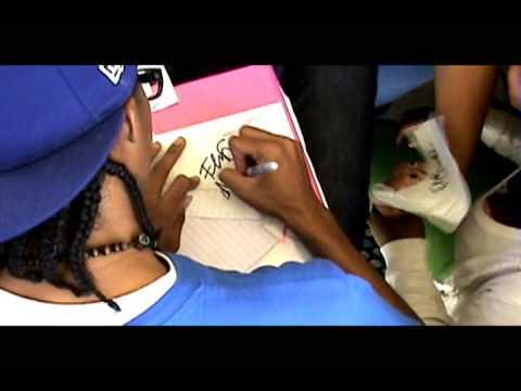 Flip Major & AO signing autographs at lucerne valley high school pt 2