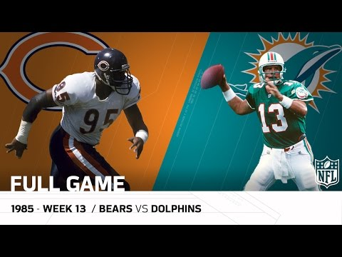Dolphins End '85 Bears Undefeated Season (Week 13, 1985) | Bears vs. Dolphins | NFL Full Game