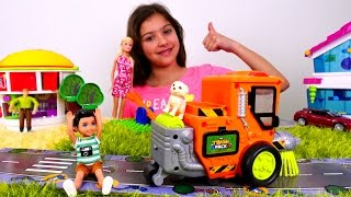 Мультики для девочек. Сын #Барби убежал из дома! Игры куклы. Видео для девочек