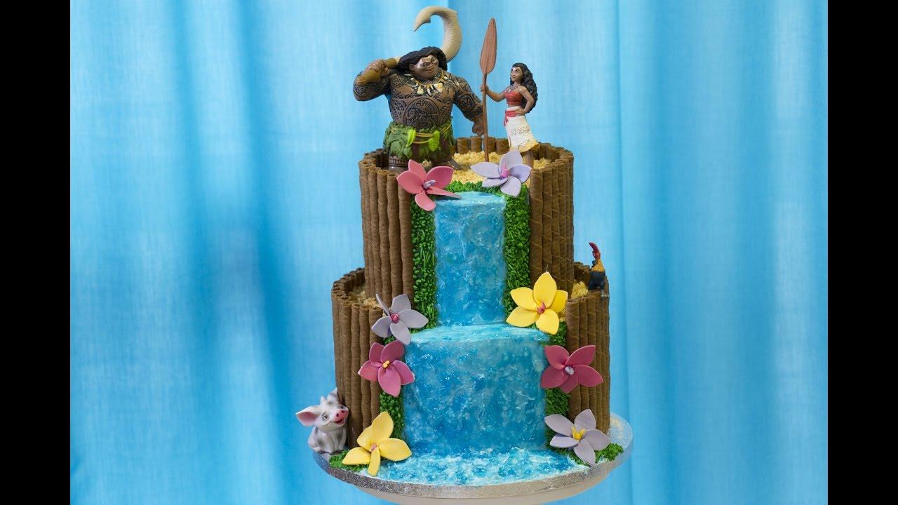 Gâteau Vaiana Moana Cake Design Youtube