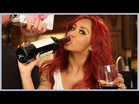 National Drink Wine Day with Snooki and Joey!