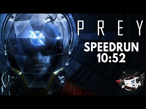 Prey (2017) Speedrun in 10:52 [Personal Best]