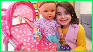 Prenses Rüya'ya Dayısından Yeni Oyuncak Bebek Arabası