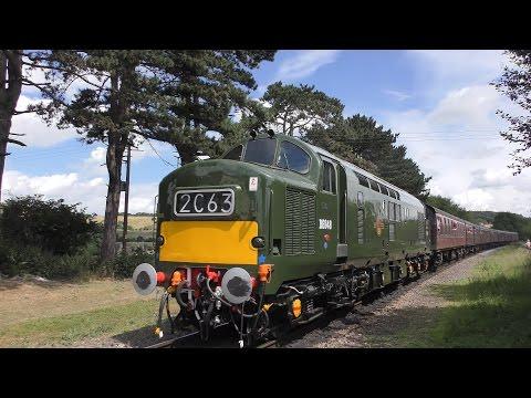 Gloucestershire Warwickshire Railway - Diesel Gala - 2016 - 4K