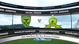 Telkom Knockout | SF | Golden Arrows v Mamelodi Sundowns | Highlights