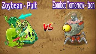 Plants vs Zombies 2 Zombies Fights Zoybean Pult vs Zombot Tomorrow tron Shorts short