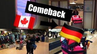 Comeback des Jahres, Rückflug, Wiedersehen mit meiner Familie// Canada #19