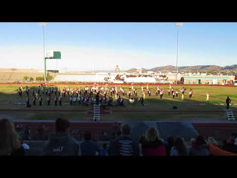 Desert Oasis High School Marching Band, 10/14/2017