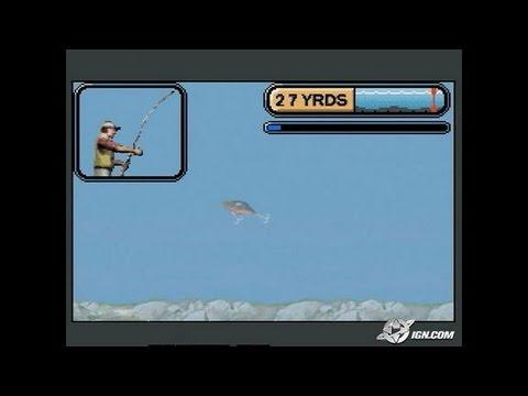 Rapala Pro Fishing Game Boy Gameplay