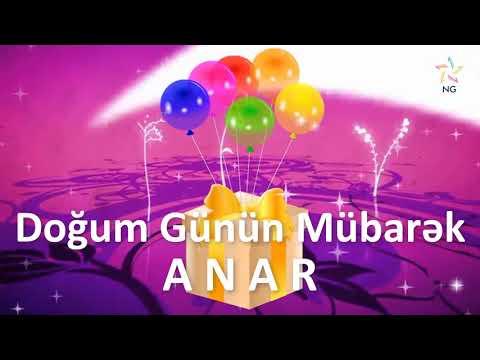 Doğum günü videosu - ANAR