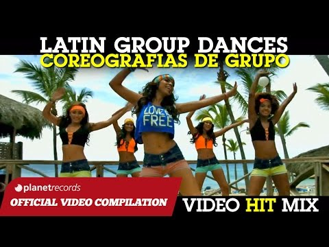 LATIN GROUP DANCE HITS ► BAILES DE GRUPO ► I MIGLIORI BALLI