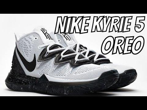 NIKE KYRIE 5 'OREO' SNEAKER REVIEW