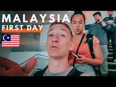 ARRIVED Malaysian State ! FIRST TIME Trying Penang Food 🇲🇾