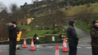 The Batman (2021) shooting in Glasgow 22/02/2020