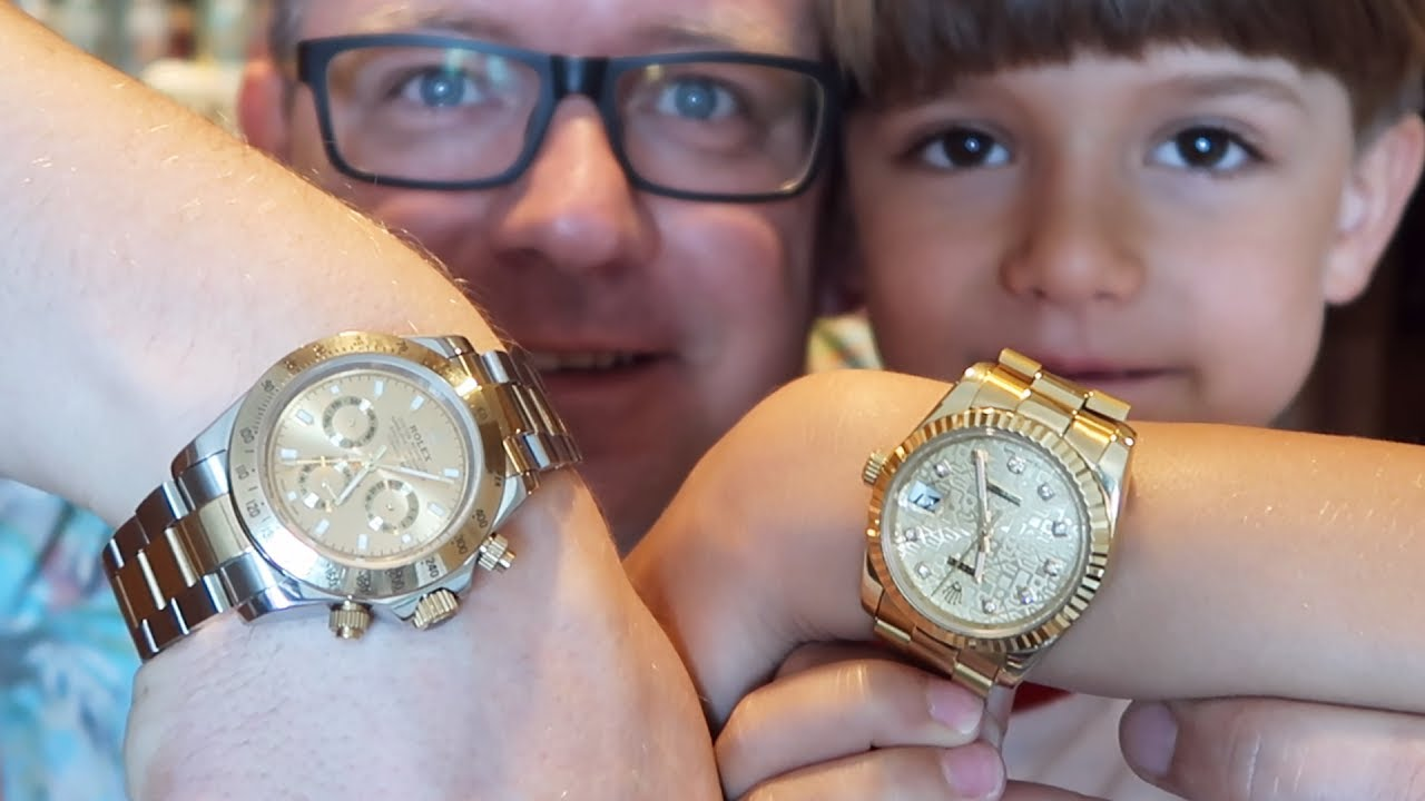 Gold Rolex x2 , Rich Kids of Dubai