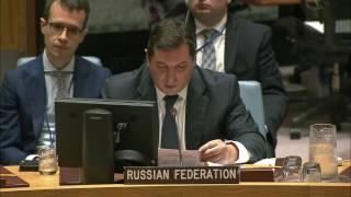 В.К.Сафронков о голосовании по проекту резолюции СБ по санкциям в отношении ИГИЛ и «Аль-Каиды»