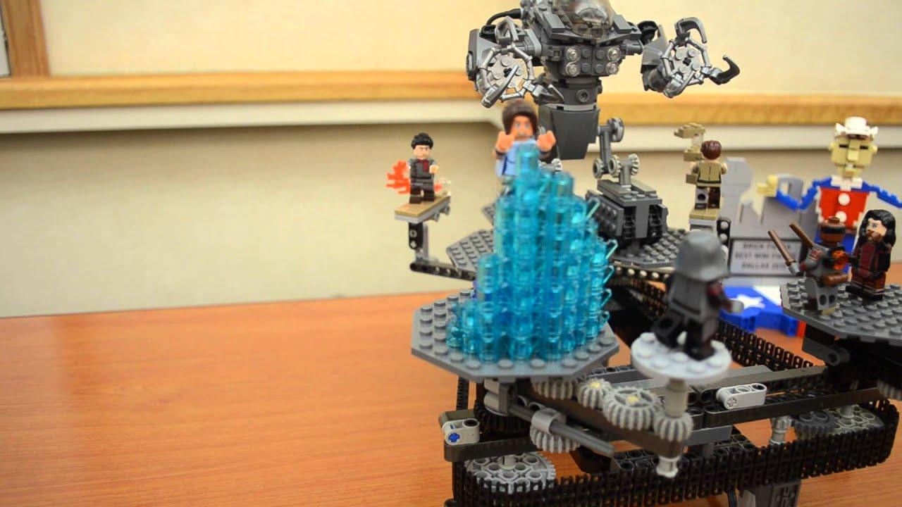 Legend of Korra Lego Minifigures & Mechatank on a technic ...