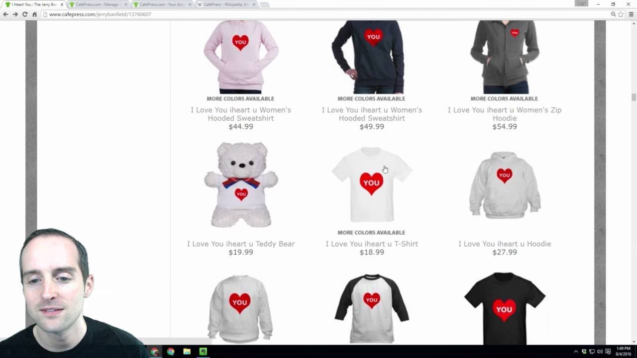 Design your own t-shirt cafepress - Cafepress Makes Creating Tshirts And Products Online Fast