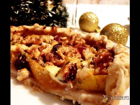 Новогодний австрийский сырный пирог