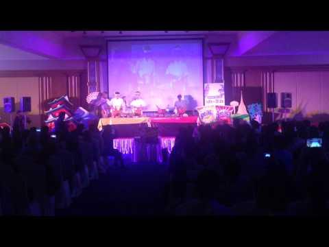 """ต๊ะตึ้งโม้ง (TaTuengMong) Percussion Thailand """"เปิดตัวตะวันสองรสชาติใหม่  Ft.บอย ปกรณ์"""" [Full HD]"""