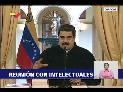 Maduro responde a Mike Pence luego de que lo acusara de financiar caravana de migrantes hondureños