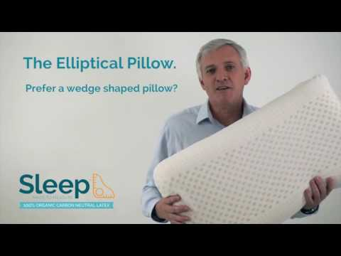 Sleep Made To Measure: The Elliptical Pillow