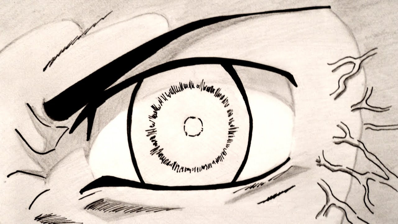 Naruto Eyes Drawing