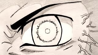 Drawing the Eyes of Naruto Shippuden (Byakugan, Sharingan, Rinnegan, Sage Mode)