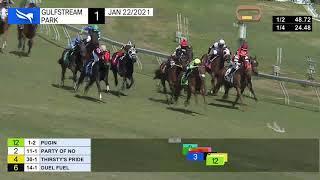 Vidéo de la course PMU MAIDEN CLAIMING 1500M