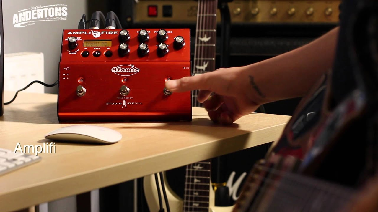 AmpliFIRE 6 • Power and Performance Redefined | Atomic Amps