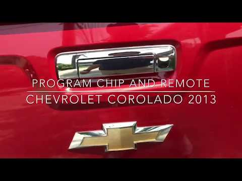 PROGRAM CHIP AND REMOTE CHEVROLET COLORADO 2013 WITH KEY MASTER DP THAI MENU BY POLLERT