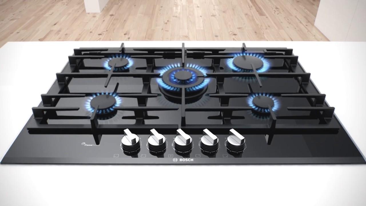 Bosch Range Top >> Bosch FlameSelect Gas Cooktop innovation - YouTube