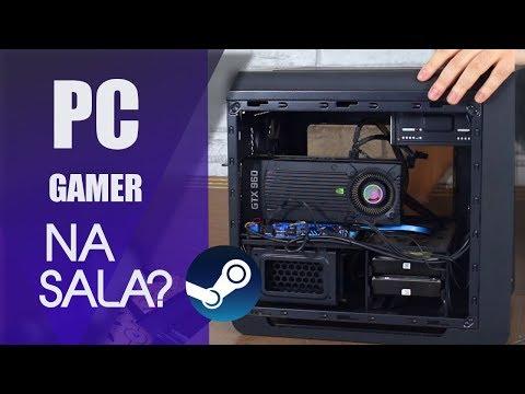 Montando um PC GAMER pra SALA/STEAM MACHINE