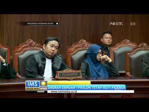 Keputusan Mahkamah Konstitusi, Pilkada Berlangsung Serentak - IMS