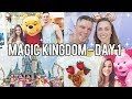 FLORIDA DAY 1: MAGIC KINGDOM 2018 - DISNEY WORLD VLOGS
