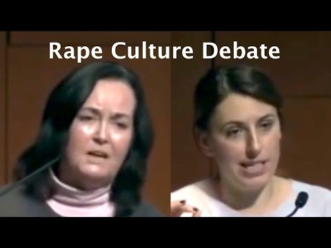 "Rape Culture debate that required ""frolicking puppies"" safe space, Wendy McElroy v Jessica Valenti"