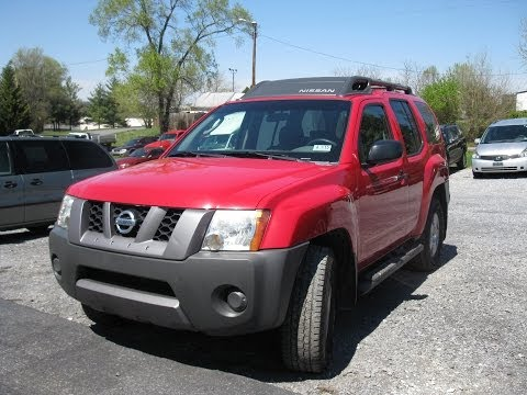 2008 Nissan Xterra Start Up and Tour