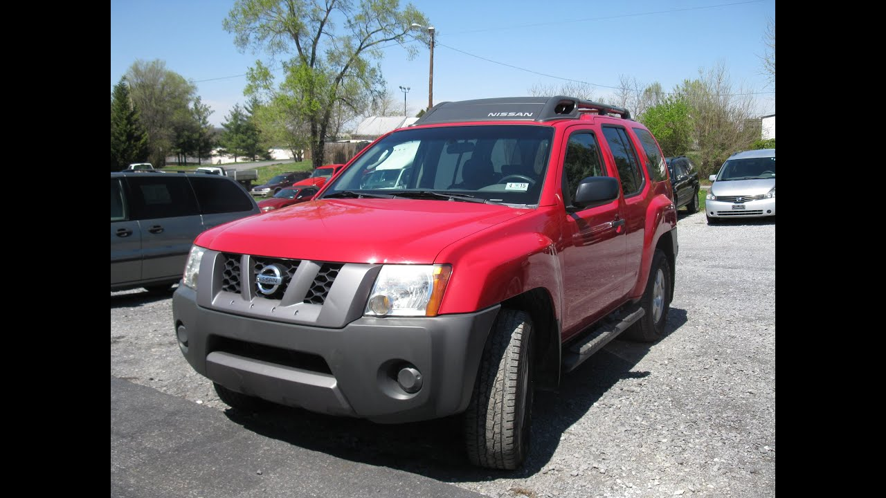 2008 Nissan Xterra Start Up And Tour Youtube
