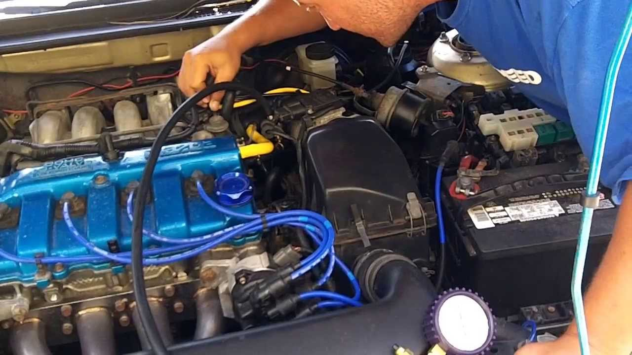 Ford 3 0 V6 Engine Firing Diagram Mazda 626 Fuel Pressure Regulator Test Youtube